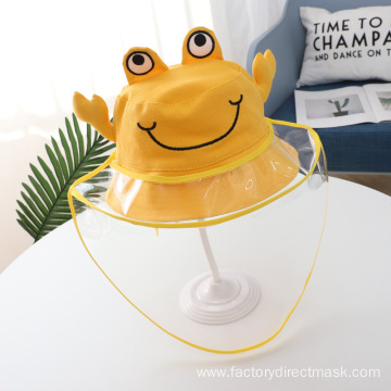 Crab Anti-droplet Hat for Children