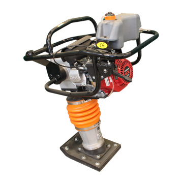 High efficiency gasoline rammer for bridge pile