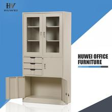 Metal file cupboard office cabinet with drawers
