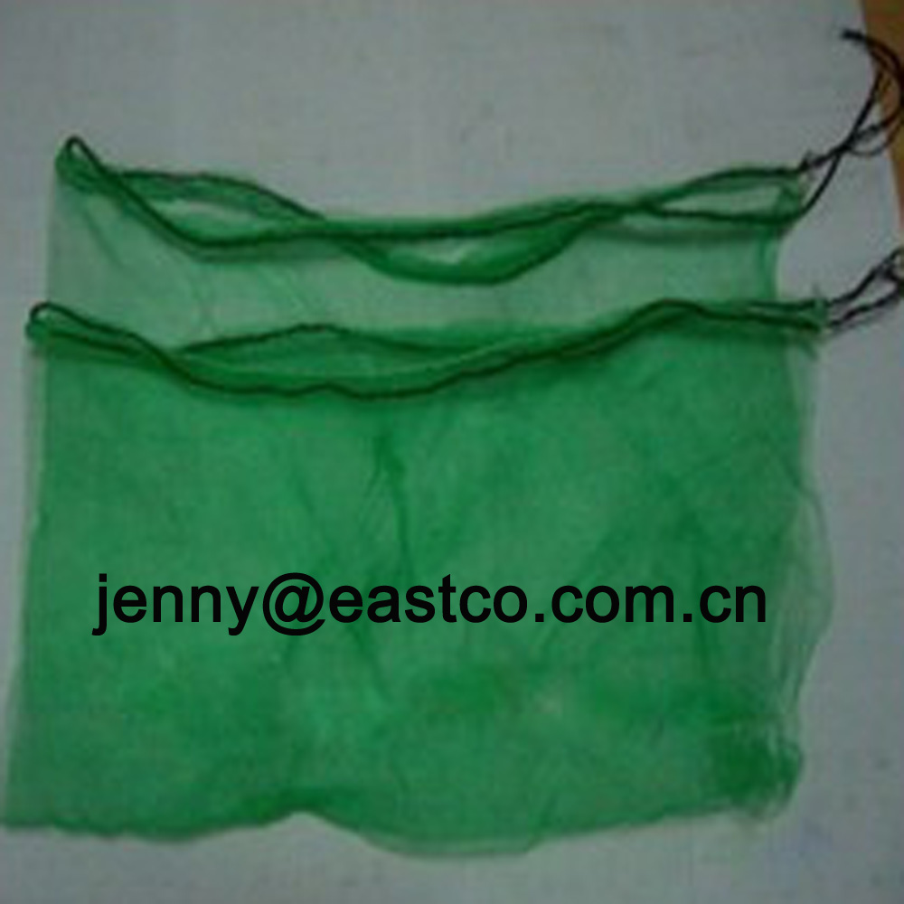 Date Palm Fruit Mesh Net Bag Sack with Drawstring