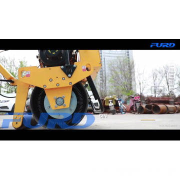 Small Hydro-static Hand Operate Road Roller with Low Price
