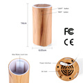 Ultrasonic wood 50 ml usb personal scent diffuser