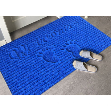 Super high cut coil entrance mat