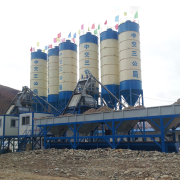 HZS50 electric 50 M3/h Concrete Batching Plants