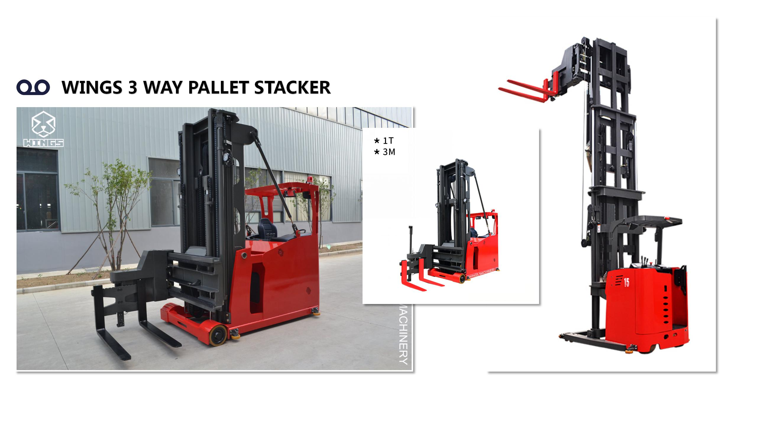 WINGS 3 WAY PALLET STACKER GOOD QUALITY -ORIGINAL