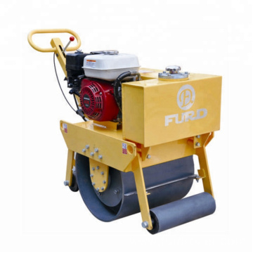 Walk Behind Single Steel drum vibratory road roller for soil compaction  FYL-450