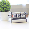 Dynamic Alarm White Flip Clock for Decor