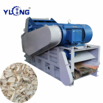 Crusher to  Crush Wood Branches into Chip