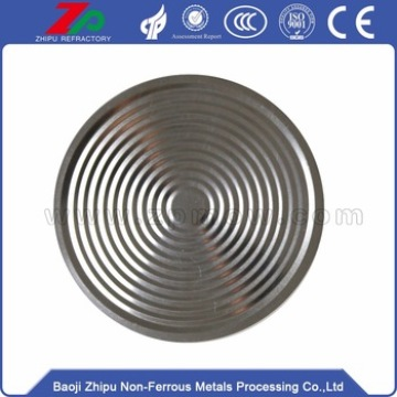 High purity tantalum diaphragm from Factory Tantalum Foil