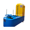 Plastic wrap baggage machine