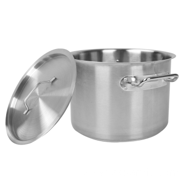 Stainless Steel 03 Style Commercial Stock Pot