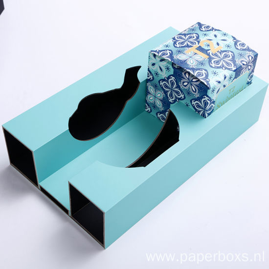 Luxury Paper Cardboard Tea Set Packaging Gift Box