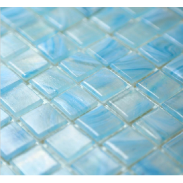 Swimming Pool And Hot Spring Glass Mosaic Tiles