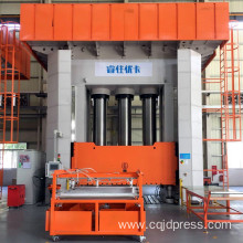 Sheet molding compounds hydraulic press