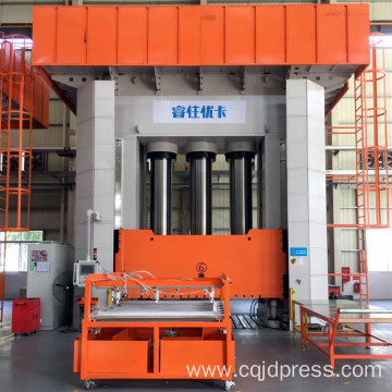 Fiber Glass Hydraulic Press