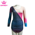 Girls Shiny Gymnastics Dance Leotards