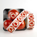Custom designs food packaging adhesive sticker roll