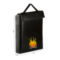 Waterproof File Holder Fireproof Silicone Coated Money Bag