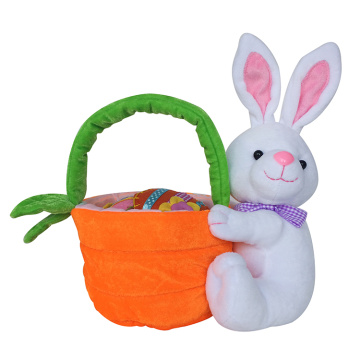 Easter plush bag  with 3D bunny