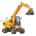Wheel excavator XN75B 6ton for sale