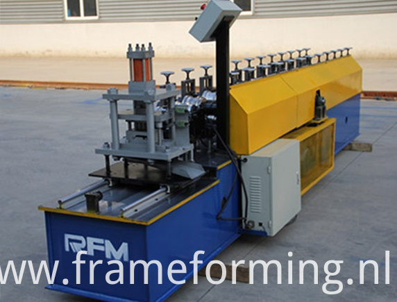 Steel Roll Up Garage Door Machinery