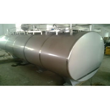 Large capacity milk cooling tank