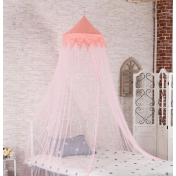 Round mosquito net for single bed