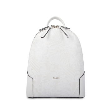 Eco Leather Women Custom Designed City Backpack