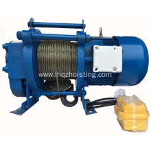 KCD multifuctional electric winch lifting hoist