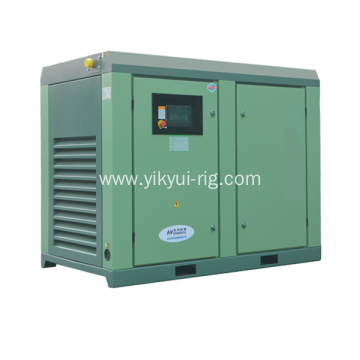 300KW air cooled screw air compressor for foundation