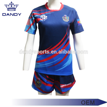 OEM Wholesale Design Your Own Team Rugby Shirt