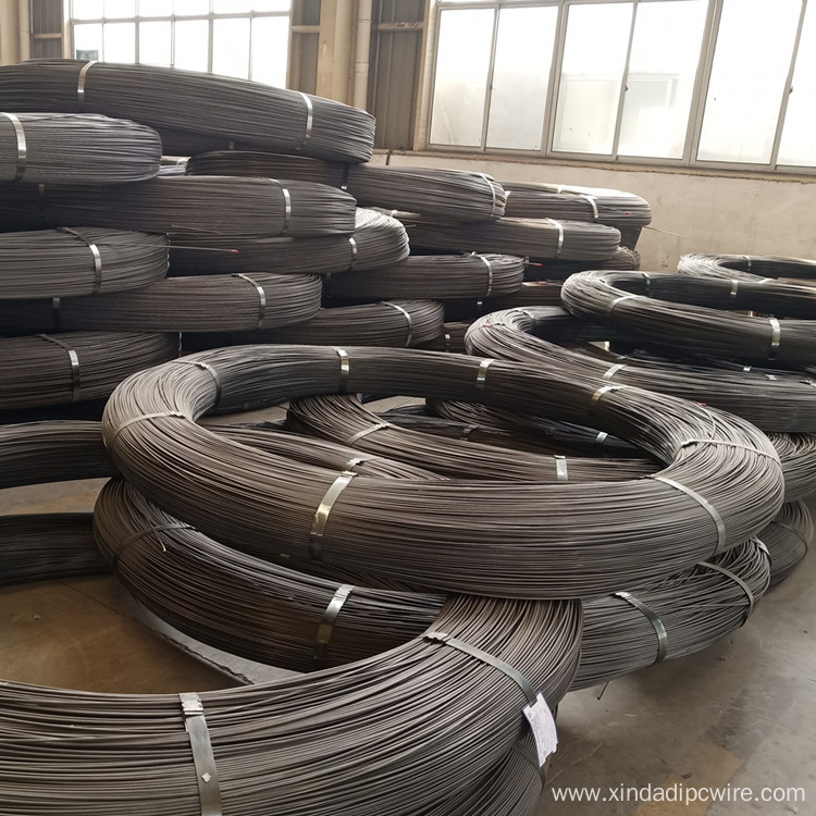 PC steel wire 6.25mm spiral surface