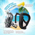 Full face freedom breath anti-fog snorkel mask