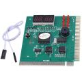 4 Digit LCD Display PC Analyzer Diagnostic Card Motherboard Post Tester Computer Analysis PCI Card Networking Tools