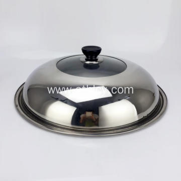Stainless Steel Lid Spherica Can See Luxury