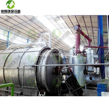 Automatic Turning Waste Plastic into Fuel Oil Machine
