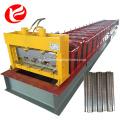 Floor deck plate building corrugated bearing making machine