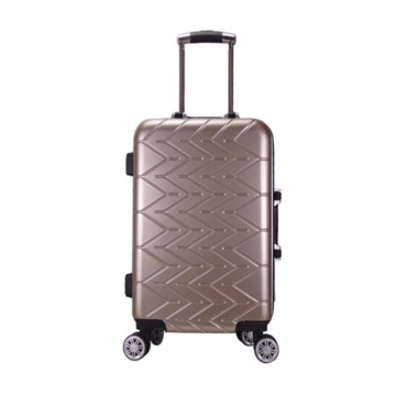 3 pcs PVC travel trolley wholesale luggage