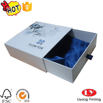 Cosmetic jewelry packaging gift drawer box