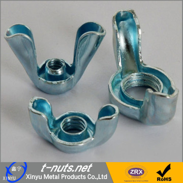 Steel Stamped Butterfly Wing Nuts