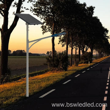 split solar street lights