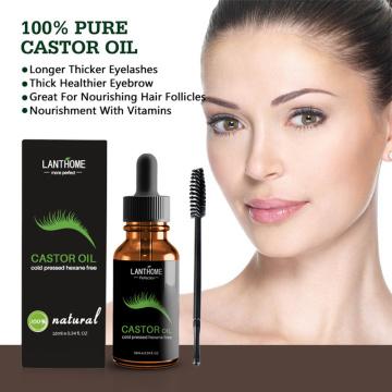 Natural Castor Oil Hair Essential Oil Prevent Skin Aging Castor Organic Eyelash Enhancer Eyelash Growth Castor Oil TSLM1
