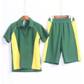 polo shirt and short pants for school uniform