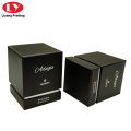 Custom Paper Perfume Packaging Gift Box Black