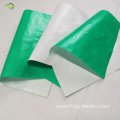 agriculture waterproof green white color greenhouse film