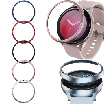 1PC Protective Bumper For Galaxy Watch Active 2 44mm Smart Wristband Accessories Replacement Watch Ring Case Cover 9