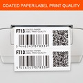 Customized premium barcode wax ribbon for zebra printer