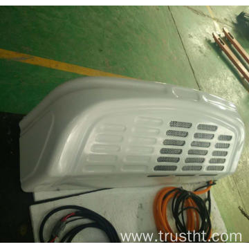 split electric refrigeration for electric truck