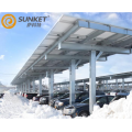 Solaire car park parking lot system