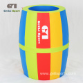 Colorful Kids Soft Rainbow Barrel Toy